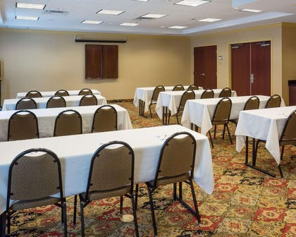 Large space perfect for corporate functions or training | Comfort Suites Fredericksburg North