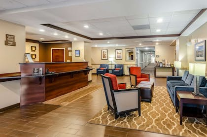 Spacious lobby with sitting area | Comfort Inn & Suites Christiansburg I-81
