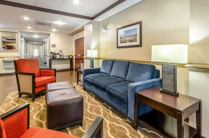 Lobby with sitting area | Comfort Inn & Suites Christiansburg I-81