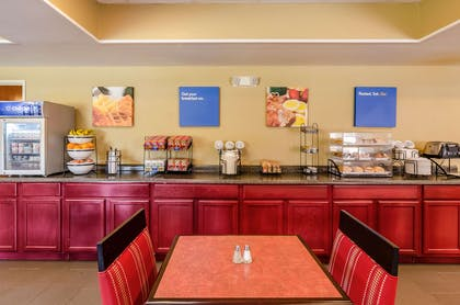 Assorted breakfast items | Comfort Inn & Suites Christiansburg I-81