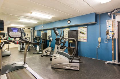 Fitness center with television | Comfort Inn Washington Dulles International