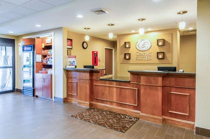 Front desk with friendly staff   Comfort Suites Wytheville