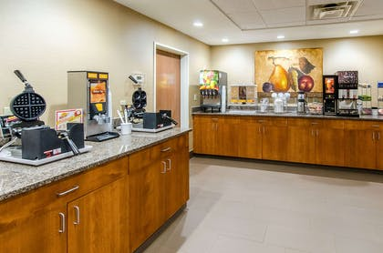 Free breakfast with waffles   Comfort Suites Wytheville