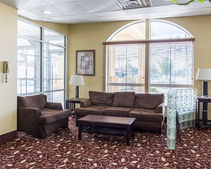 Lobby with sitting area | Comfort Inn & Suites Chesapeake - Portsmouth