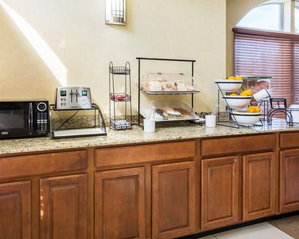 Assorted breakfast items | Comfort Inn & Suites Chesapeake - Portsmouth
