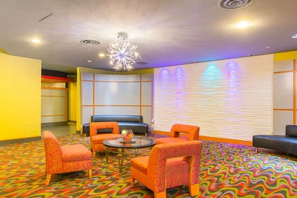 Spacious lobby with sitting area | Comfort Suites At Virginia Center Commons