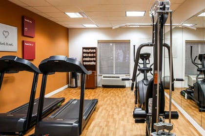 Fitness center   Comfort Suites At Virginia Center Commons