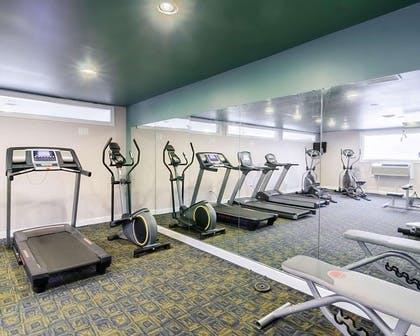 Fitness center   Quality Inn & Suites Williamsburg Central