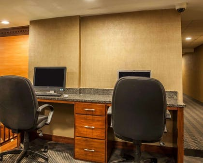 Business center with high-speed Internet access | The Virginian Suites, an Ascend Hotel Collection Member