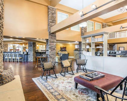 Spacious lobby with sitting area | Bluegreen Shenandoah Crossing, Ascend Resort Collection
