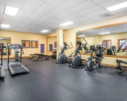 Fitness center with cardio equipment | Bluegreen Shenandoah Crossing, Ascend Resort Collection