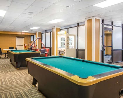 Game room with pool tables | Bluegreen Shenandoah Crossing, Ascend Resort Collection