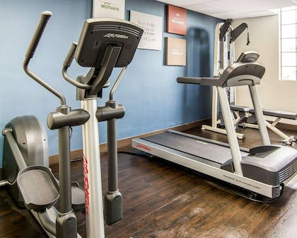 Fitness center | Comfort Suites Fredericksburg South