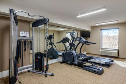Fitness center | Comfort Inn South Chesterfield - Colonial Heights