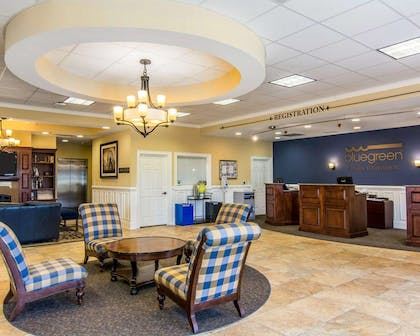 Spacious lobby   Bluegreen Parkside Williamsburg Ascend Resort Collection
