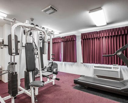 Fitness center with cardio equipment | Quality Inn Grand Suites Bellingham
