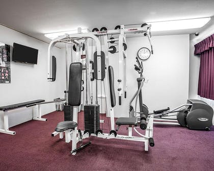 Exercise room | Quality Inn Grand Suites Bellingham