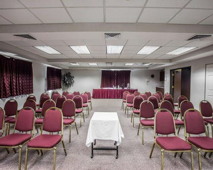 Meeting room with theater-style setup | Quality Inn Grand Suites Bellingham
