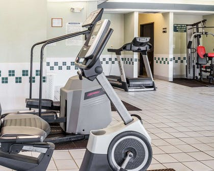 Fitness center with cardio equipment | Comfort Inn Kelso - Longview