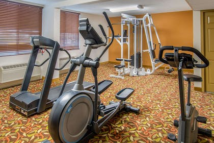 Fitness center | Quality Inn Downtown 4th Avenue