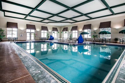 Indoor pool | Comfort Suites Madison
