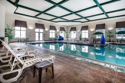 Relax by the pool | Comfort Suites Madison
