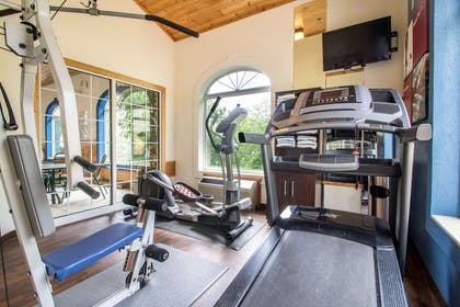 Fitness center | Comfort Suites Wisconsin Dells Area