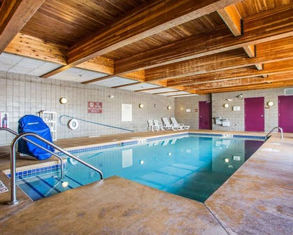 Indoor pool | Sleep Inn And Suites
