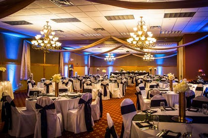 Banquet room   Sleep Inn & Suites Conference Center