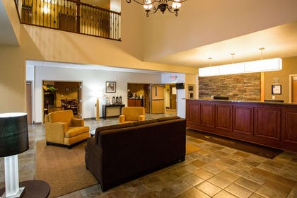 Lobby with sitting area   Sleep Inn & Suites Conference Center