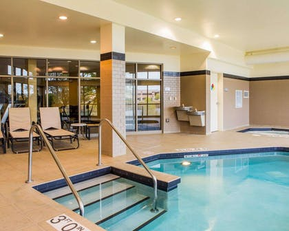 Indoor heated pool | Cambria Hotel Madison East