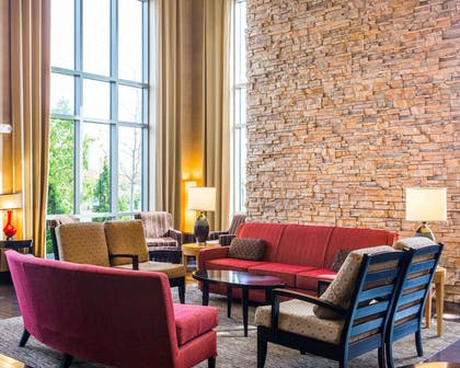 Spacious lobby with sitting area | Cambria Hotel Madison East