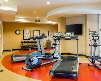 The Refresh area offers a state-of-the-art fitness center | Cambria Hotel Appleton