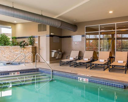 Relax by the pool | Cambria Hotel Appleton