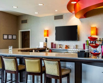 Cambria Suites features large social gathering areas where guests may sit and meet with others, or relax alone | Cambria Hotel Appleton