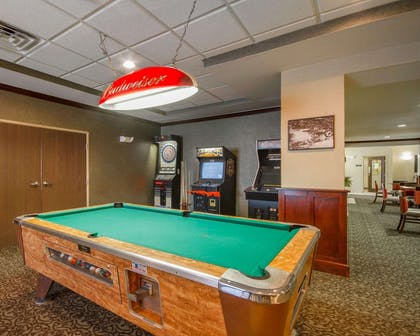 Game room with pool tables | Comfort Inn Plover-Stevens Point