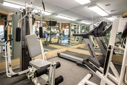 Fitness center | Quality Inn & Suites Sun Prairie Madison East