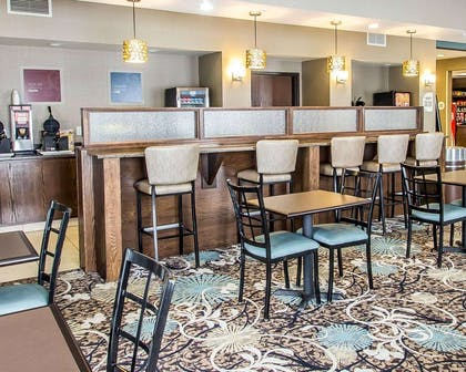 Breakfast area in the lobby | Comfort Suites Hudson I-94