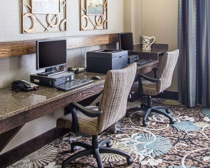 Business center with high-speed Internet access | Comfort Suites Hudson I-94