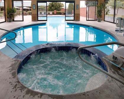 Relax in the hot tub | Comfort Suites Parkersburg South