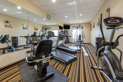Exercise room with cardio equipment | Comfort Inn & Suites