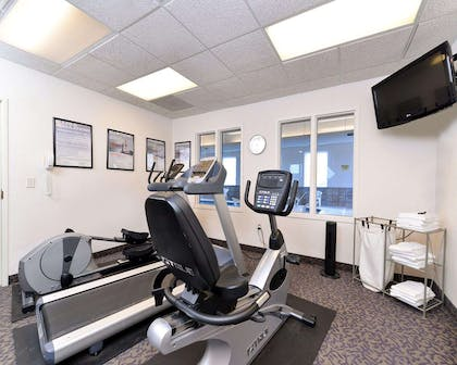 Fitness center with television | Comfort Inn And Suites