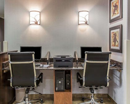 Business center with high-speed Internet access | Mainstay Suites Casper