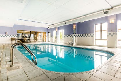 Indoor pool | Quality Inn & Suites