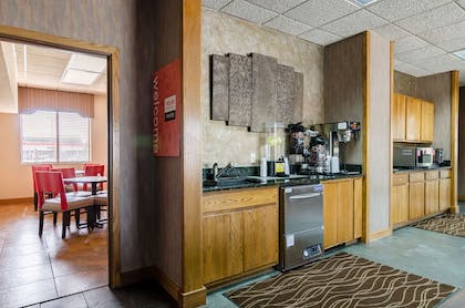 Coffee in the lobby | Comfort Inn Colby