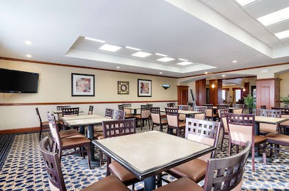 Breakfast area | Comfort Suites Pratt