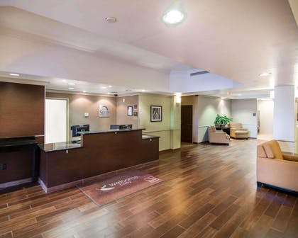 Enjoy coffee in the lobby | Sleep Inn And Suites Colby