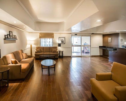 Spacious lobby with sitting area | Sleep Inn And Suites Colby