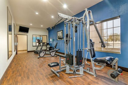 Exercise room   Comfort Inn And Suites