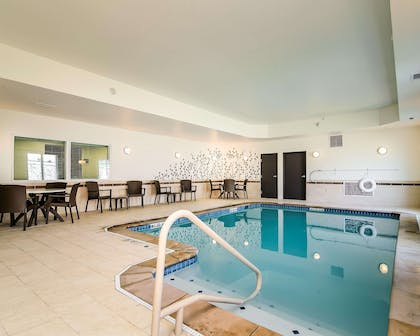 Relax at the indoor pool | Sleep Inn & Suites Fort Scott